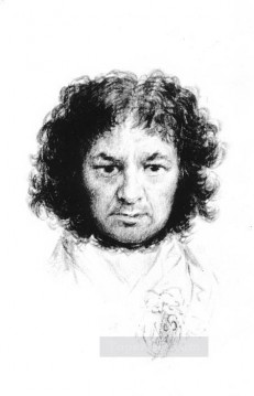 Self Portrait Romantic modern Francisco Goya Oil Paintings