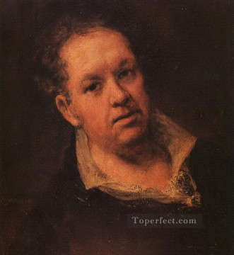 Self Portrait2 Romantic modern Francisco Goya Oil Paintings