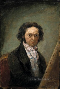 Goya Oil Painting - Self portrait 2 Francisco de Goya