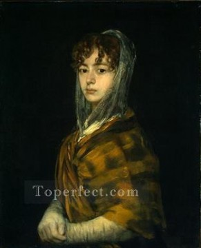Senora Sabasa Garcia portrait Francisco Goya Oil Paintings