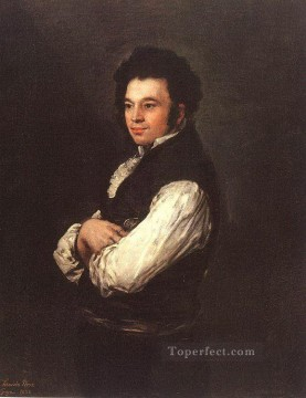 Francisco Goya Painting - The Architect Don Tiburcio Perezy Cuervo portrait Francisco Goya