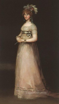 Francisco Goya Painting - The Countess of Chinchon portrait Francisco Goya