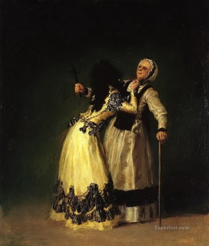 The Duchess of Alba and Her Duenna Francisco de Goya Oil Paintings