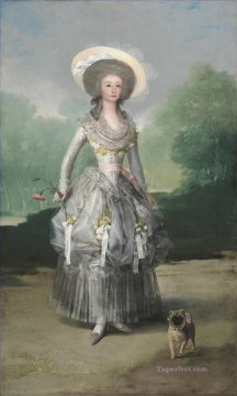The Marquesa de Pontejos Francisco de Goya Oil Paintings