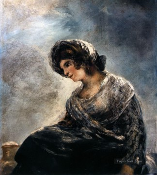 Francisco Goya Painting - The Milkmaid of Bordeaux Francisco de Goya