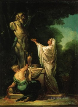 Goya Oil Painting - The Sacrifice to Priapus Francisco de Goya
