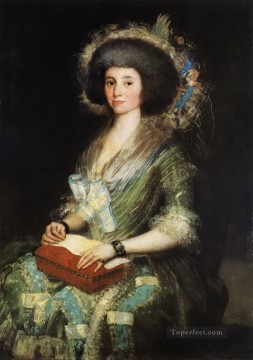 Francisco Goya Painting - Wife of Juan Agustin Cean Bermudez Francisco de Goya