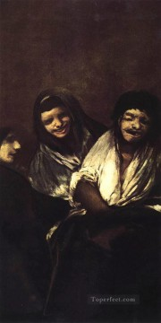 Goya Oil Painting - Young People Laughing Francisco de Goya