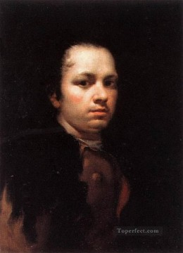 Francisco Goya Painting - y Lucientes Francisco De Self Portrait portrait Francisco Goya
