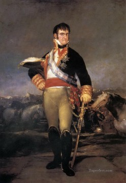Francisco Goya Painting - Ferdinand VII Francisco de Goya