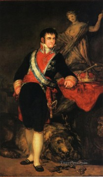 Goya Oil Painting - Fernando VII Francisco de Goya
