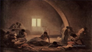 Plague Hospital Francisco de Goya Oil Paintings