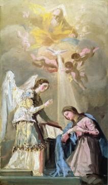 Goya Oil Painting - The Annunciation 1785 Francisco de Goya