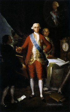 Goya Oil Painting - The Count of Floridablanca Francisco de Goya