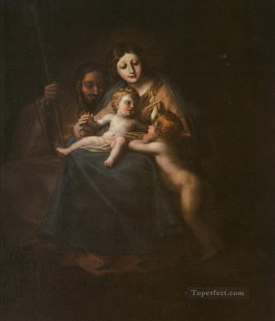 Francisco Goya Painting - The Holy Family Francisco de Goya