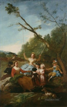 The Swing Francisco de Goya Oil Paintings