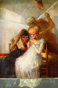 Time of the Old Women Francisco de Goya Oil Paintings
