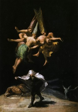 Francisco Art Painting - Witches in the Air Francisco de Goya