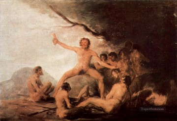 Bildzyklus Francisco de Goya Oil Paintings