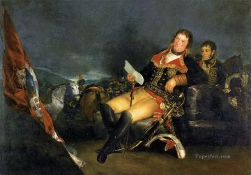 Goya Oil Painting - Manuel Godoy Francisco de Goya