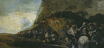 Promenade of the Holy Office Francisco de Goya Oil Paintings