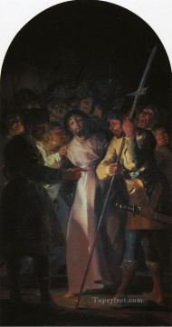 Francisco Goya Painting - The Arrest of Christ Francisco de Goya