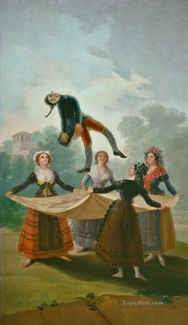 Francisco Goya Painting - The Straw Manikin Francisco de Goya