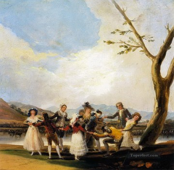 Blind Man s Buff Francisco de Goya Oil Paintings