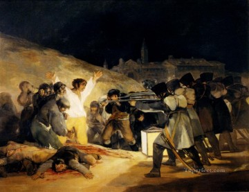 May 31808 Romantic modern Francisco Goya Oil Paintings