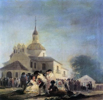 Pilgrimage to the Church of San Isidro Francisco de Goya Oil Paintings
