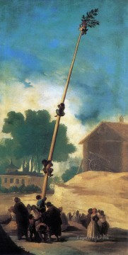 The Greasy Pole Francisco de Goya Oil Paintings