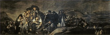 Francisco Art Painting - The Pilgrimage of San Isidro Francisco de Goya