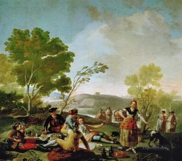 Picnic on the Banks of the Manzanares Francisco de Goya Oil Paintings