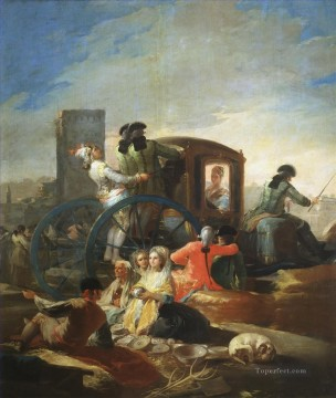 The Crockery Vendor Francisco de Goya Oil Paintings