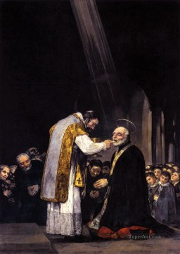 Francisco Goya Painting - The Last Communion of St Joseph Calasanz Francisco de Goya