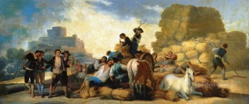 Summer or The Harvest Francisco de Goya Oil Paintings