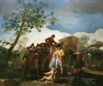 The Blind Guitar Player Francisco de Goya Oil Paintings