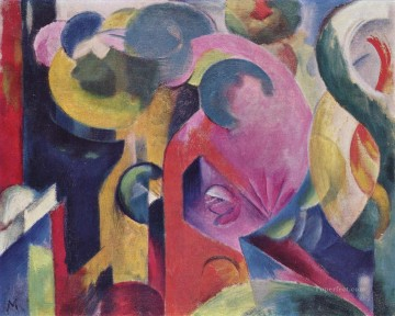Komposition III Franz Marc Oil Paintings