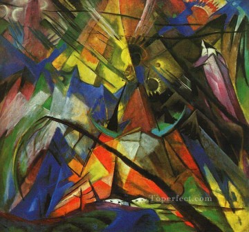 Tirol Franz Marc Oil Paintings