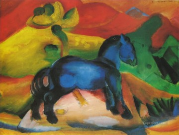 Dasblaue Pferdchen Franz Marc Oil Paintings