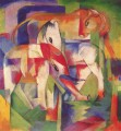 Elefant Pferd Rind Winter Franz Marc
