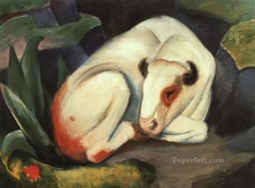 Franz Marc Painting - The Bull Franz Marc
