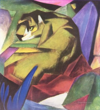 Tiger Franz Marc Oil Paintings