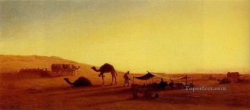 An Arab Encampment1 Arabian Orientalist Charles Theodore Frere Oil Paintings