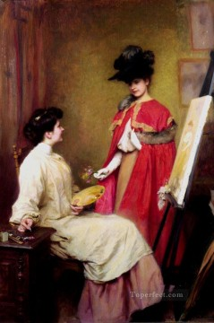 Studio Visit Realism Emile Friant Oil Paintings