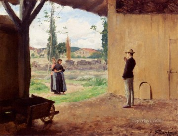 Spring Realism Emile Friant Oil Paintings