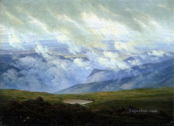 Drifting Clouds Romantic Caspar David Friedrich Oil Paintings