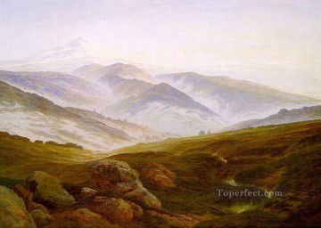 Riesengebirge Romantic Caspar David Friedrich Oil Paintings