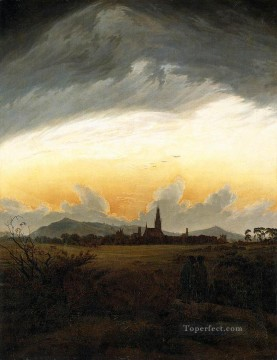 Neubrandenburg Romantic Caspar David Friedrich Oil Paintings