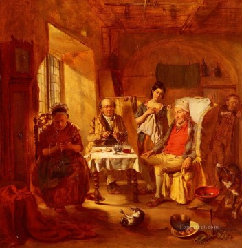 William Powell Frith Painting - The Family Lawyer Victorian social scene William Powell Frith